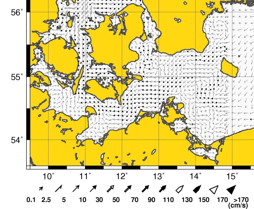 Auf den Internetseiten des Bundesamtes für Seeschifffahrt und Hydrographie gibt's sehr gute Vorhersagen für das Küstenwetter, Wellenhöhen und Strömungen (siehe Bild). www.bsh.de