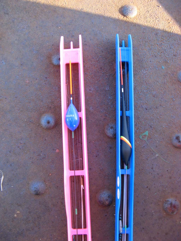 Im Handel bekommt man vorgefertigte Montage zum Stippangeln. Nur noch anknoten und Köderfische fangen! Foto: BLINKER/CT