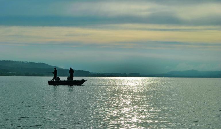 Großer Brombachsee: Ein Gewässer mit zwei Gesichtern