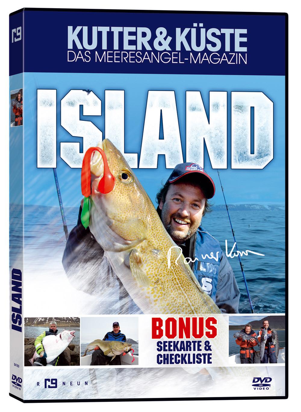 Fast zwei Stunden Island gibts auf der neuen DVD von Rainer Korn. Rainer Korn