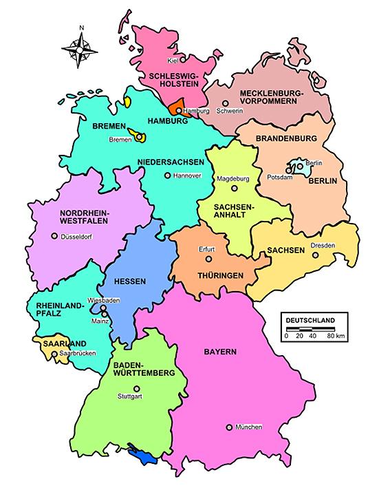 campingplätze in deutschland karte Per Mausklick auf den Campingplatz   BLINKER