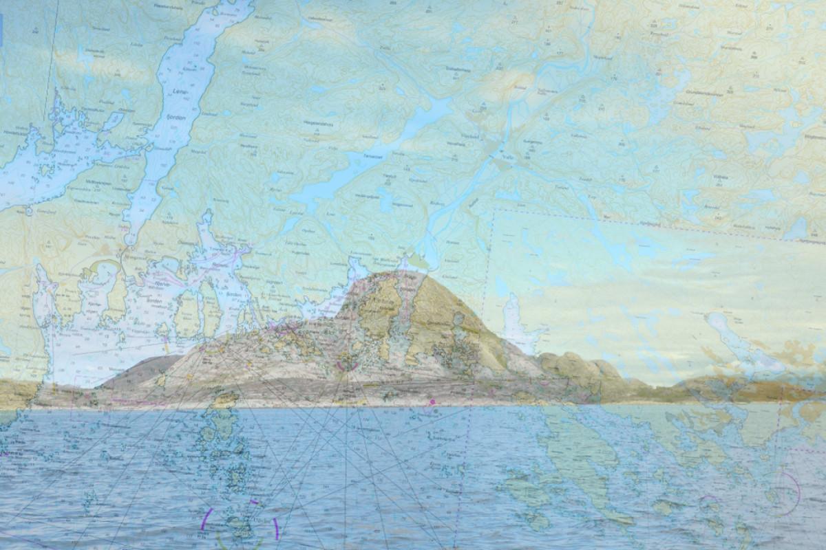Seekarte Norwegen