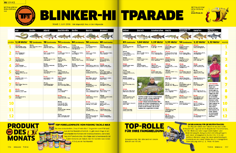 BLINKER Hitparade