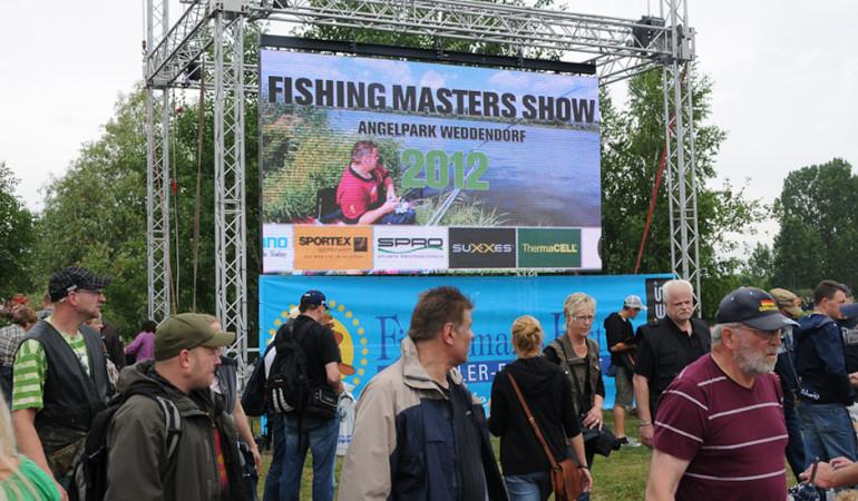 Die Fishing Masters Show 2012 fand in Weddendorf statt.