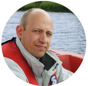 Thomas Schlageter ist Fachmann in Sachen Echolot-Technik.