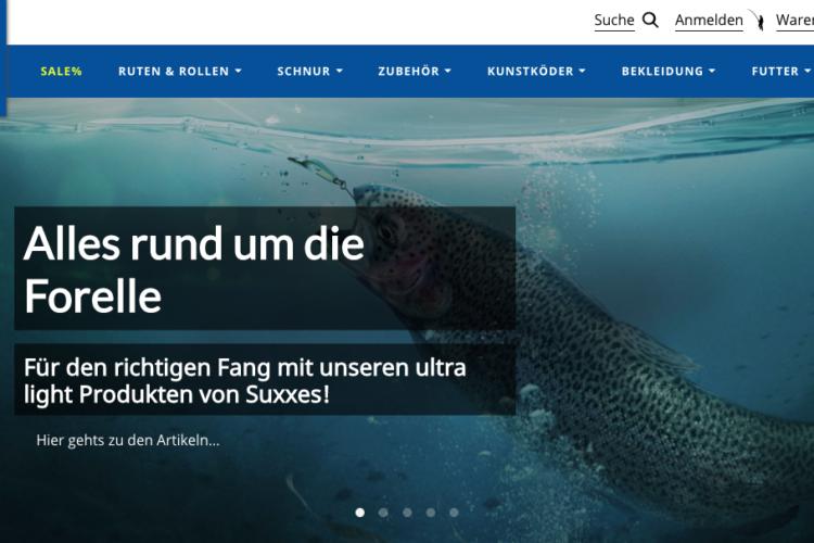 Komplett neu: Im Online-Shop von Fisherman's Partner gibt es viele tolle Angebote für Angler. Bild: Fisherman's Partner