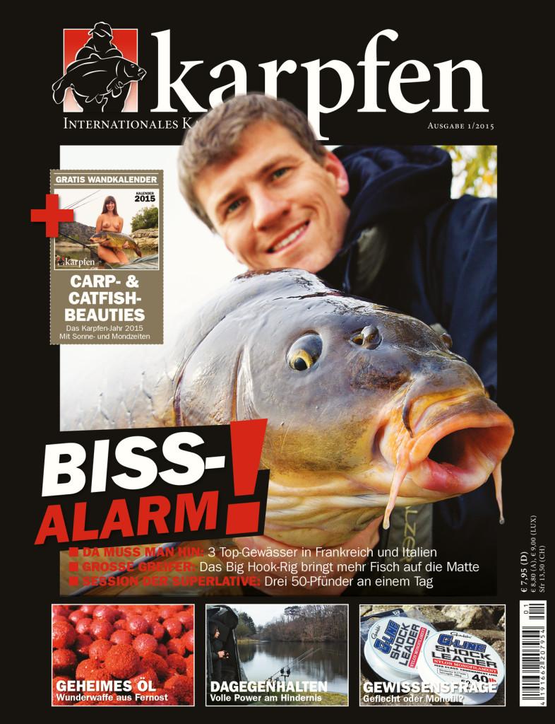 Karpfen Ausgabe 1/2015