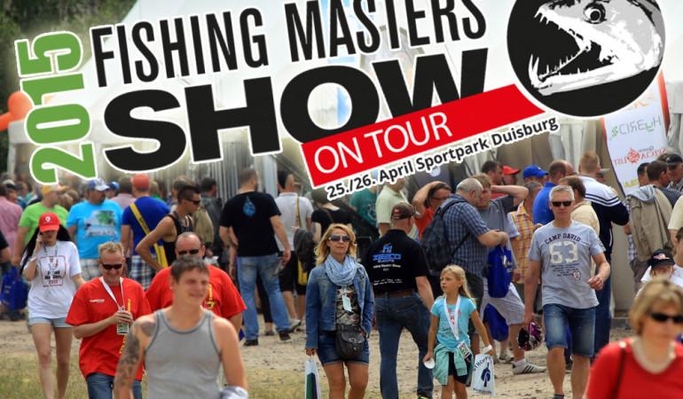 Die Fishing Masters Show 2015 findet dieses Jahr im Sportpark Duisburg statt.