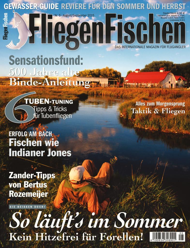 FliegenFischen Ausgabe 5/2015