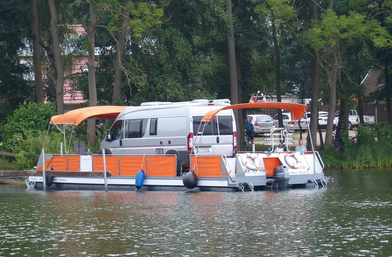 Camping Ahoi! WaterCamper verwandelt Wohnwagen und Wohnmobil in ...