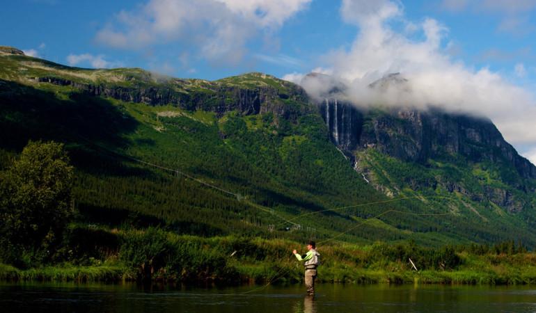 Norwegen Hemsedal ist das perfekte Urlaubsziel für Fliegenfischer.