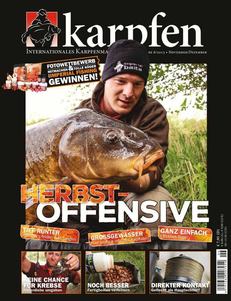 Karpfen Ausgabe 6/2015