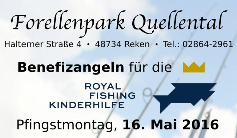 Am 16. Mai steigt im Forellenpark Quellental die große Forellenparty.
