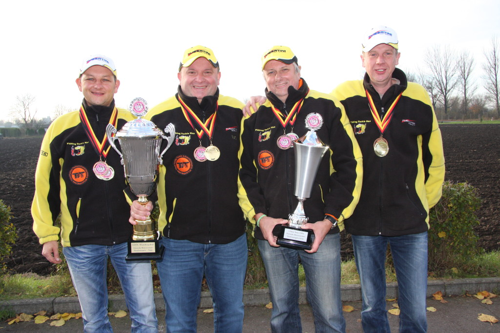 FTM-Teamangler sicherten sich den Mannschaftssieg bei der Deutschen Forellenmeisterschaft. Foto: www.ftmax.de