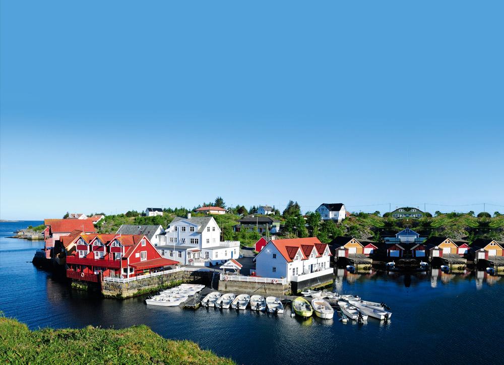 Norwegen hat nicht nur einen großen Fischreichtum zu bieten, sondern auch Landschaftlich bekommt man hier einiges geboten. Foto: Fjord Line