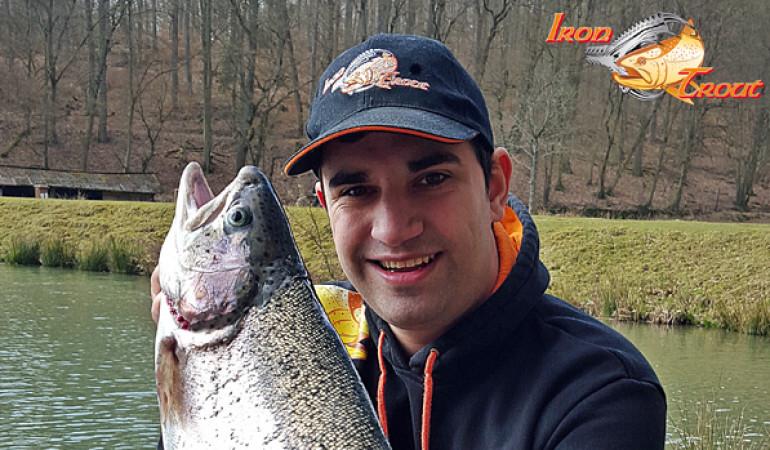Rudi Eisenbarth verstärkt als Forellen-Experte das Iron-Trout Team. Foto: www.saenger--tts.de
