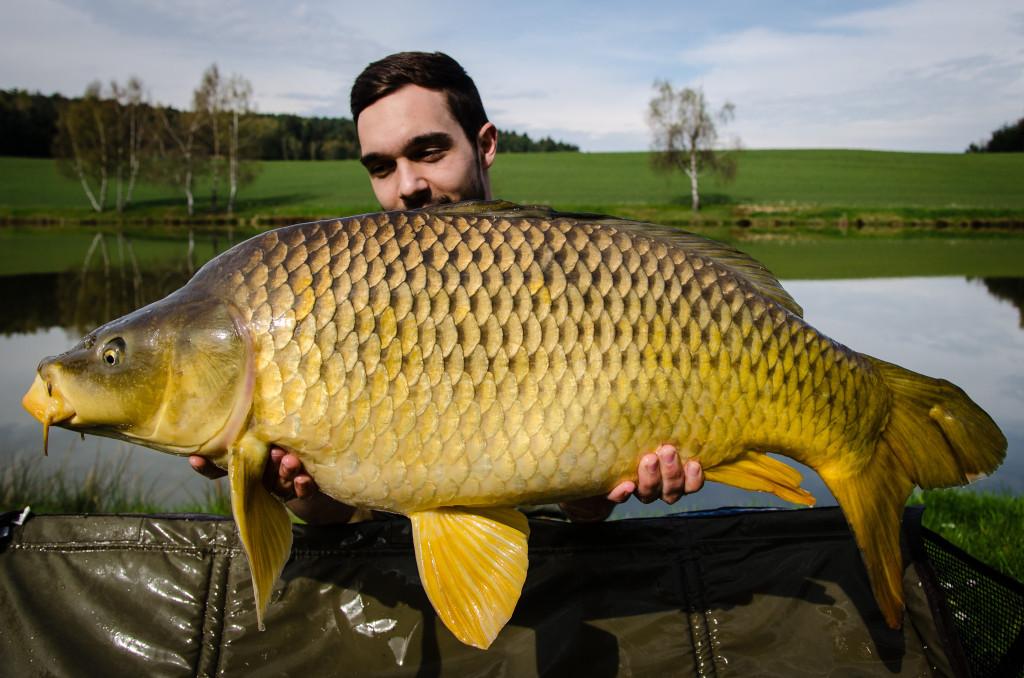 28 Pfund brachte der größte Schuppi von Patrick Hauer auf die Waage. Foto: Privat