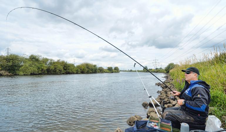 Feederangeln Fluss
