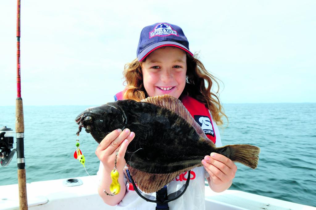 Der Name sagt es schon – Der Buttlöffel ist wie gemacht, um auf die agilen und recht aggressiven Flundern zu angeln.