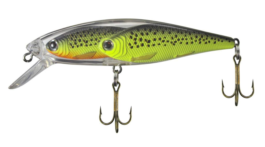 Der Belly Fischschwarm-Wobbler von Jenzi ist auch als Minnow-Hardbait erhältlich.