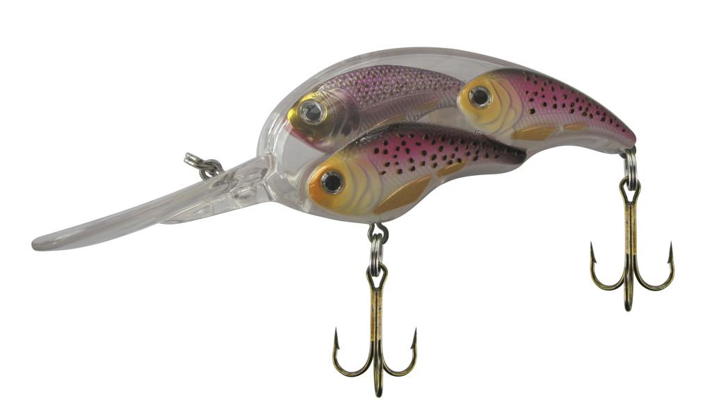 Im Belly Fischschwarm Wobbler sind kleine Fischimitate integriert, die einen Fischschwarm imitieren.