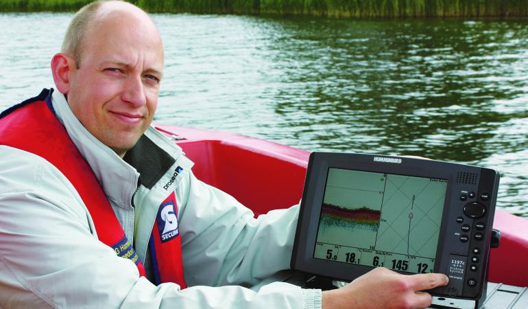 Thomas Schlageter ist die Institution in Sachen Bordtechnik.