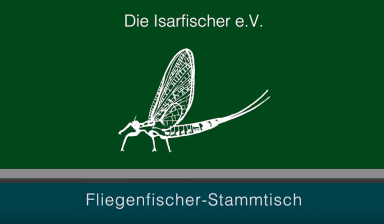 Isarfischer München. Fliegenfischerstammtisch startet Kanal auf Youtube.