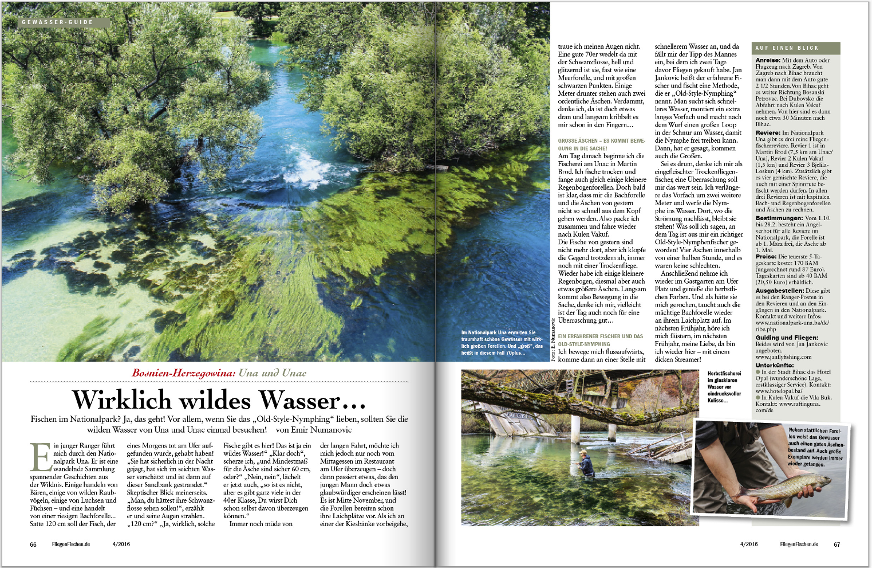 Wirklich wilde Wasser erwarten Sie in FliFi 4-2016. Wir stellen Ihnen beispielsweise dieses traumhaft schöne Gewässer vor.