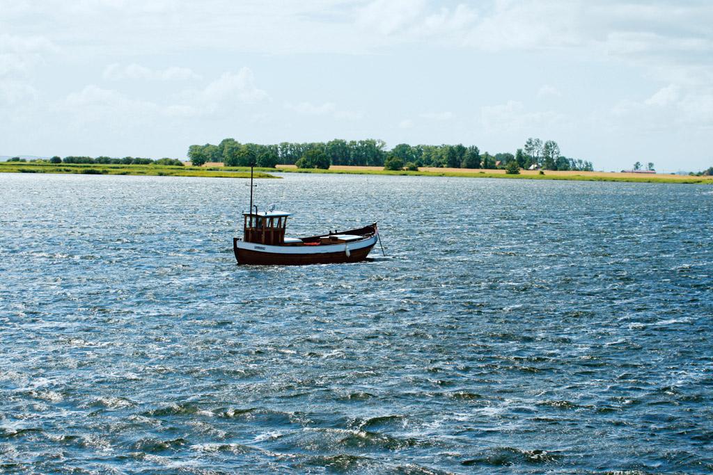 Die Bodden rund um Rügen bieten nicht nur jede Menge Fisch, sondern auch eine malerische Kulisse zum Genießen. Foto: BLINKER