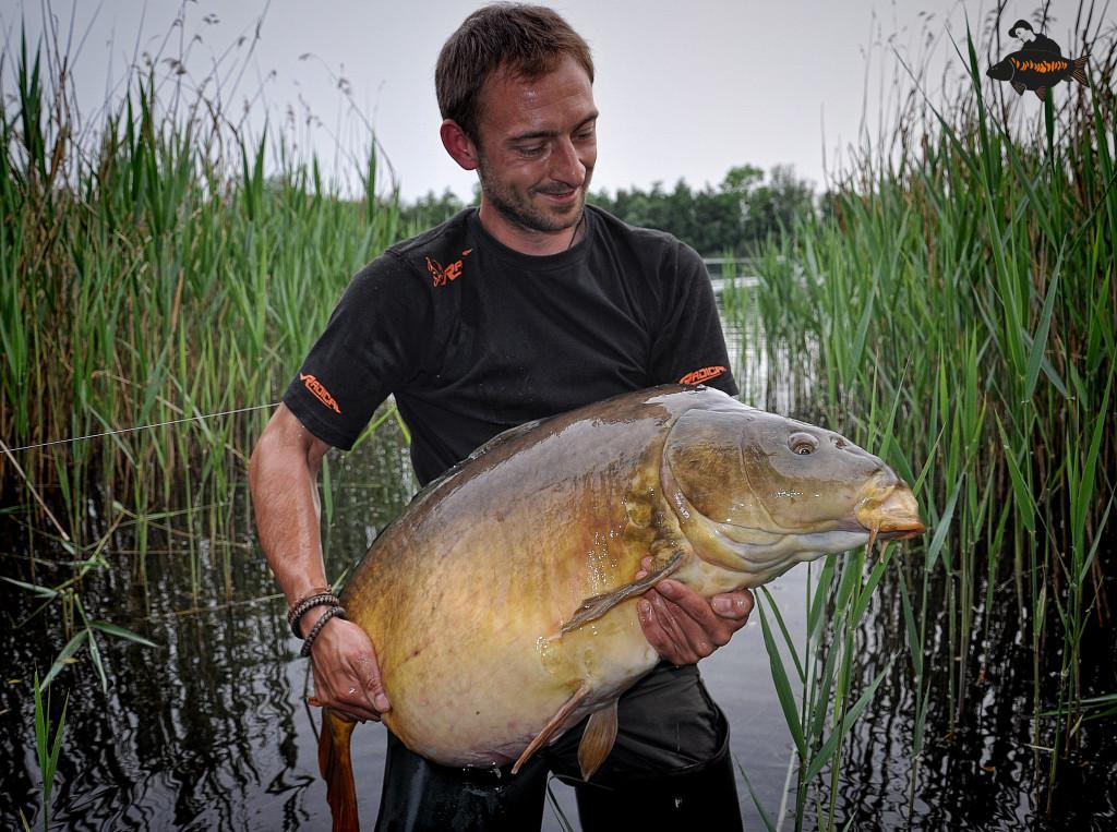 Dieser Spiegler brachte 41 Pfund 300 Gramm auf die Waage. Foto: www.zebco-europe.com