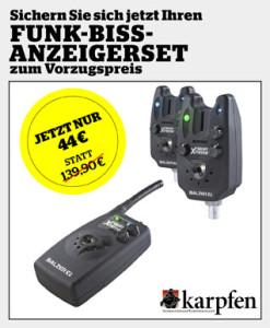 KARPFEN Prämien-Paket inkl. Galaxy Extreme Funk Bissanzeigerset