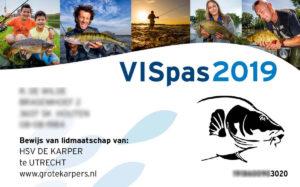 Der Vispass ist zum Angeln in Holland notwendig. Er hat die Form und Eigenschaften einer Chipkarte und sollte immer mitgeführt und auf Verlangen vorgezeigt werden. Grafik: fishinginholland.nl