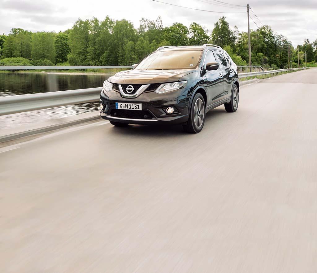 Mobilität in Schweden war mit den Autos von Nissan kein Thema. Foto: Markus Gelhard
