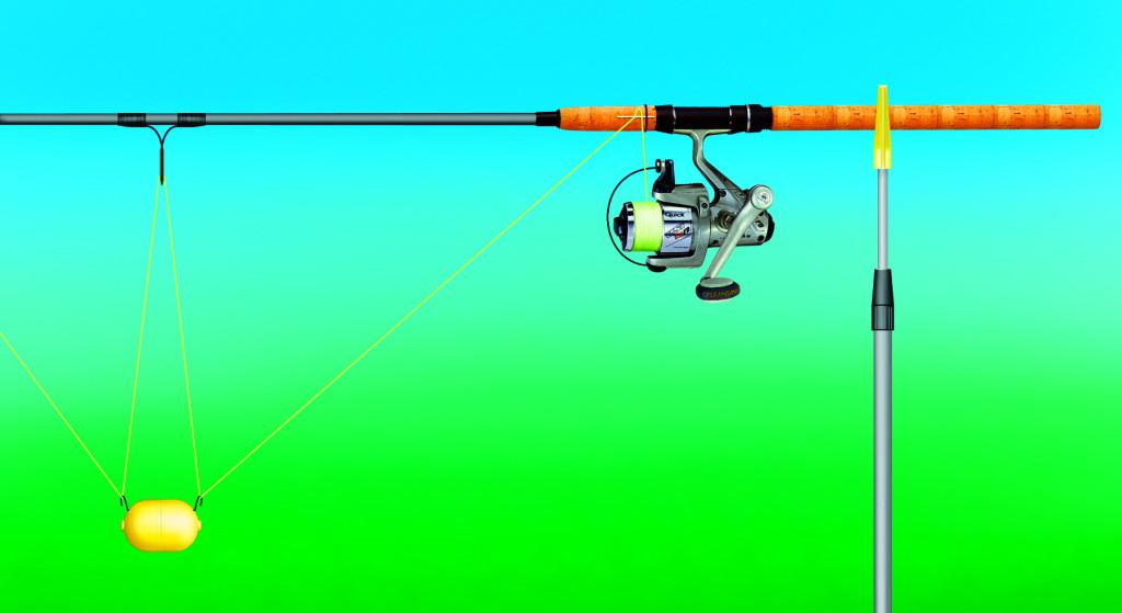 Bissanzeiger Zanderangeln mit Köderfisch
