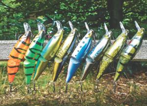 Der Swingtail-Minnow von Sebilè ist ein gut 10 cm langer, zweiteiliger Wobbler, den Hechte lieben / Foto: Rolf Schwarzer