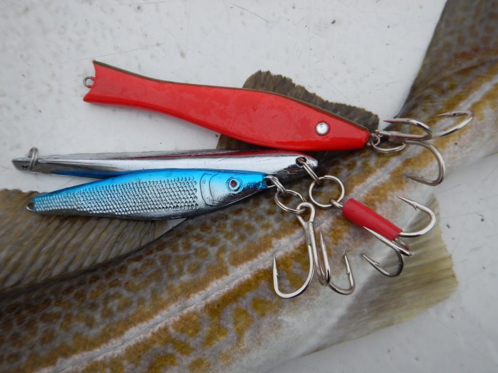 Pilker bringen die Dorsche an den Haken. Aber auch mit Gummifischen und Köderfischen bekommt man Bisse. Foto: Gregor Bradley