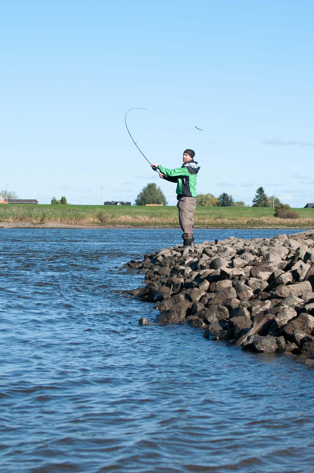 Das Zanderangeln im Herbst verspricht auch für Uferangler optimale Fangchancen.