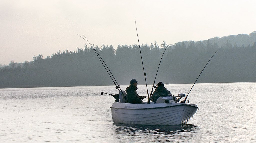 Beim Schleppangeln hat man die besten Chancen, ein goßes Gewässer nach Fischen abzusuchen. Die Chancen dabei einen Kapitalen zu fangen, sind dann sehr hoch.