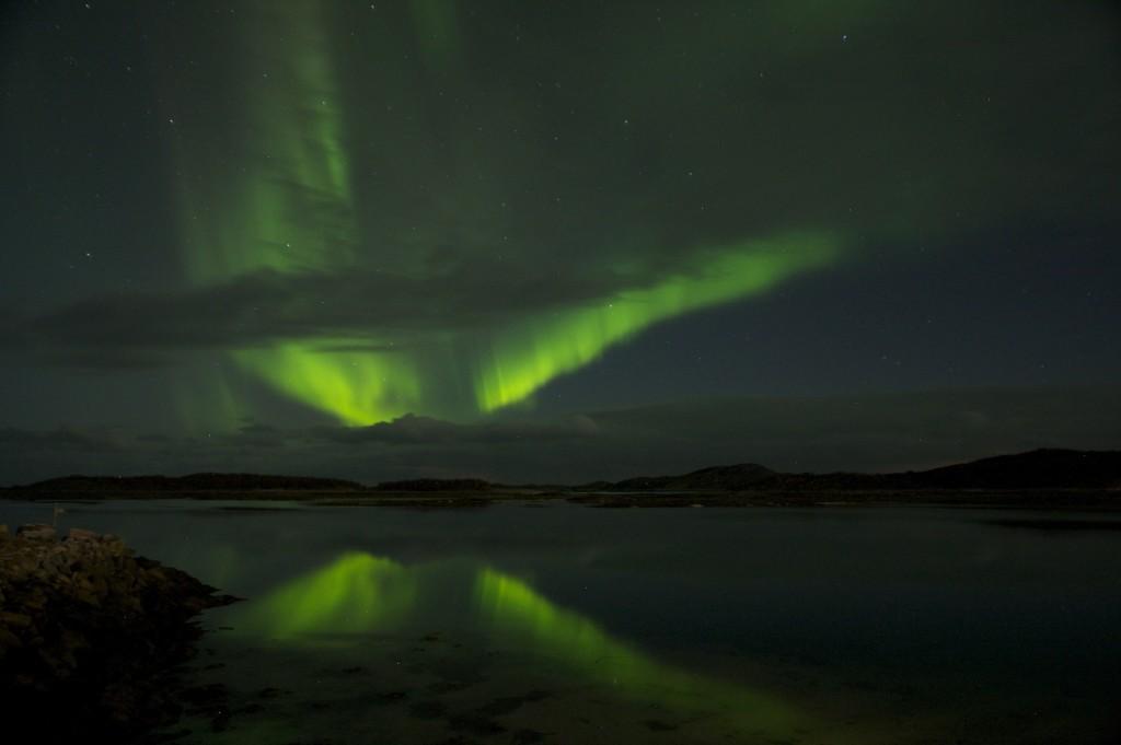 Beim Angelurlaub in Norwegen bietet nicht nur Fischreichtum, sondern auch einzigartige Naturschauspiele wie die Polarlichter.