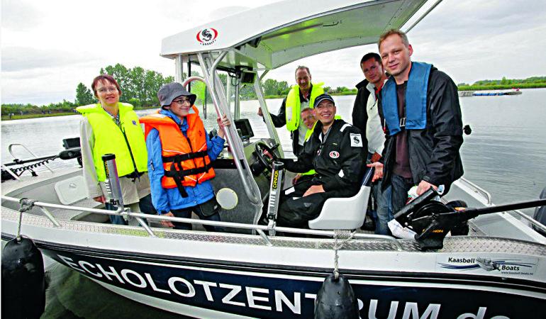 Macht mit beim Schlageter Echolot-Seminar am Bodensee und erfahrt alles wichtige rund um die Bootstechnik.