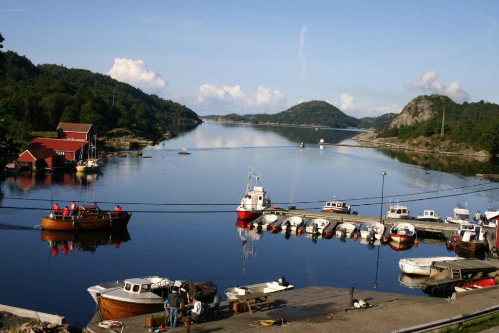 Bei diesem Anblick in bekommt doch jeder Angler Lust, auf einen Angelurlaub in Südnorwegen.