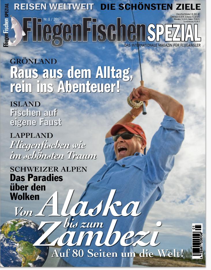 In dieser aktuellen Reise-Ausgabe von FliegenFischen lesen Sie die ganze Geschichte über das Fliegenfischen auf Königslachs in Alaska.