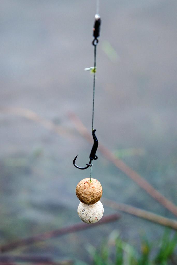 Ein Crawfish-Schneemann - das Rig für die Big Fish Bay.
