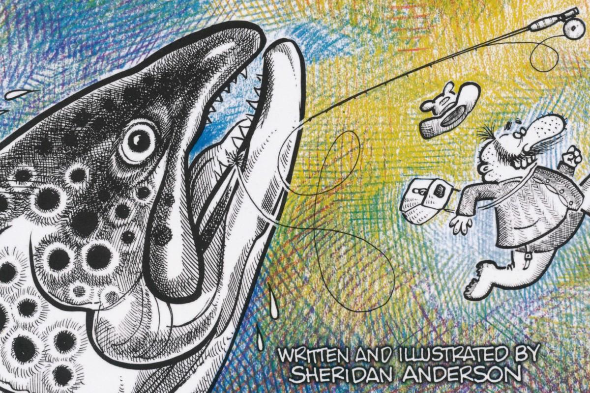 Curtis Creek Manifesto: Ein lehrreiches Comic zum Thema Fliegenfischen. Einfach irre, dieses Buch!