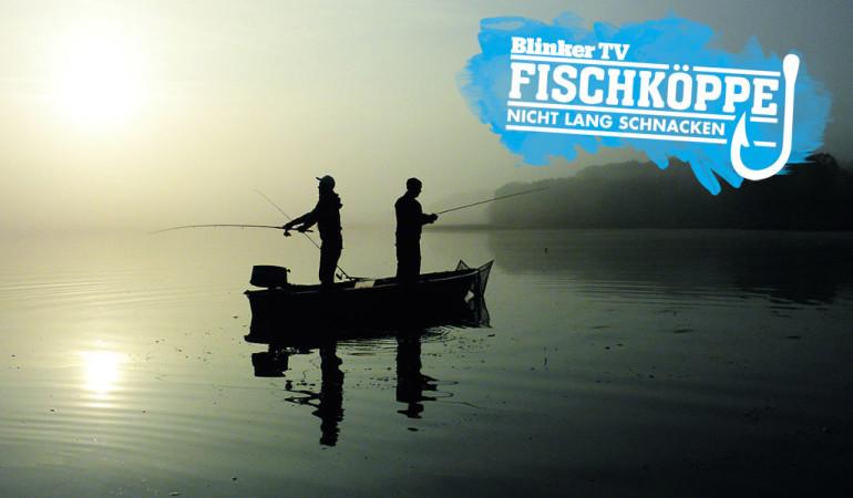 Die Fischköppe beim Angeln im Klenzsee.