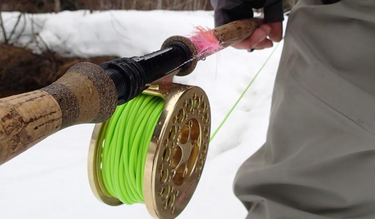 Skagit und leichte Zweihandrute - ein perfektes Paar für das Fliegenfischen mit dem Streamer! Besonders, wenn der beschwerte Streamer an einer Sink-Tip tief angeboten werden muss.