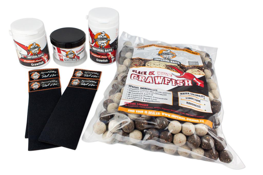Dieses Imperial Fishing Crawfish Bait Package von gibt's gratis zum 1-Jahres-Abo von KARPFEN.