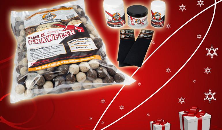 Die KARPFEN Abo-Prämie mit einem dicken Imperial Bait Crawfish Paket perfekt als Weihnachtsgeschenk geeignet.