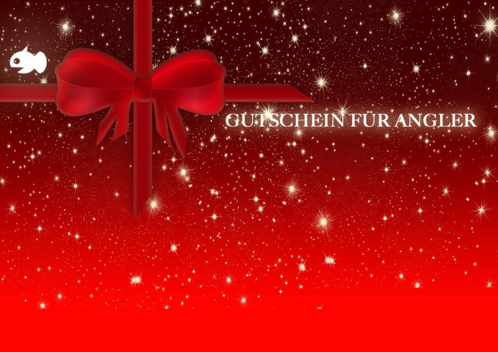 Weihnachtsgeschenke für Angler: Mit einem Gutschein kann man meist nichts verkehrt machen.