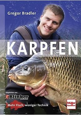 Chefredakteur Gregor Bradler hat ein Buch über das Karpfenangeln veröffentlicht. Dieses ist in jedem Angelfachmarkt oder in Bücherhandlungen erhältlich. Daneben gibt es eine weitere große Auswahl an gebundener Fachlektüre.
